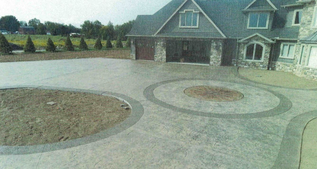 Stamped Concrete Patio Rochester Ny Decorative Concrete